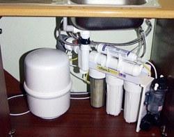 Установка фильтра очистки воды в Северске, подключение фильтра для воды в г.Северск