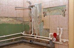 Замена старых труб в квартире, коттедже, на доче, доме, складе, помещении или офисе в городе Северск